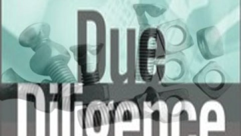 Due Diligence Nuts and Bolts