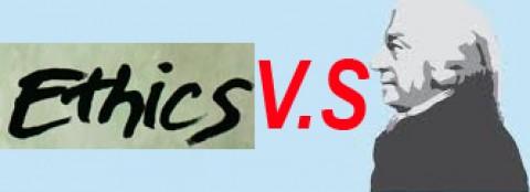 Ethics versus a laissez-faire attitude