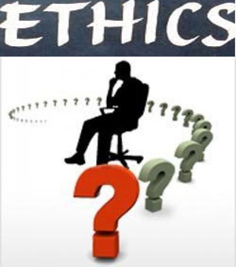Business ethics gray, require constant attention