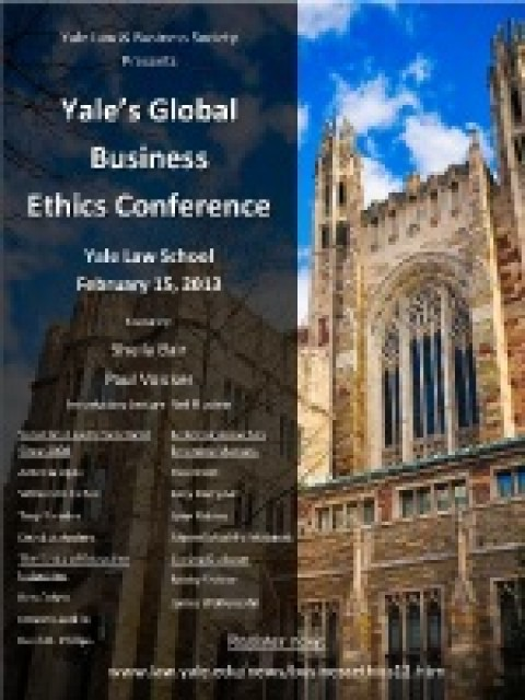 Inaugural Global Business Ethics Conference Brings in Wide Range of Distinguished Speakers